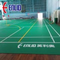 PVC Sports flooring BWF Approved Badminton Court Mats