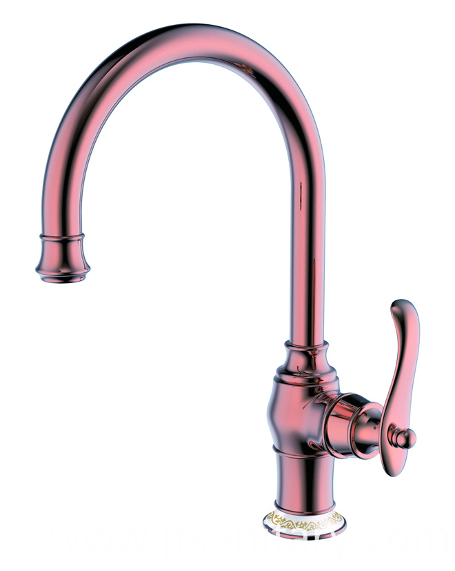 copper kitchen sink faucet