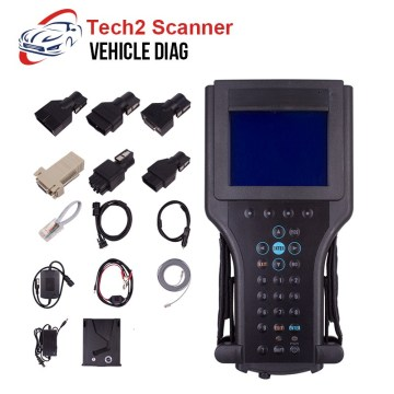 For GM Tech2 Scanner Diagnostic Tool For GM Tech 2 with 32MB Software Card For SAAB/OPEL/SUZUKI/Holden/ISUZU 12V Car Carton Box