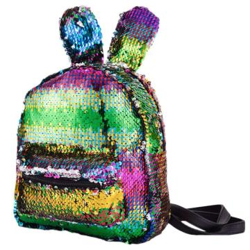 RABBIT SEQUIN BACKPACK -0