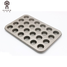 bakeware carbon steel 24 cup muffin pan