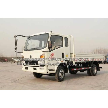 Howo Light Duty Truck 8 Ton Cargo Truck