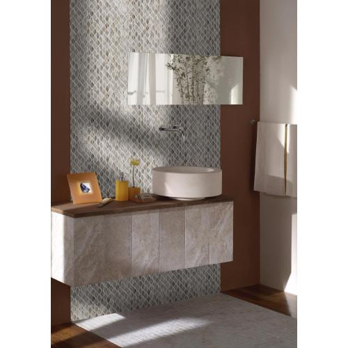 Brown Glass Mosaic Tiles For Toilets And Bathrooms