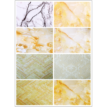 Interior Decoration Plastic PVC Marble Sheet and PVC Board