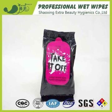 Custom Makeup Remover Wet Wipes Cleaning Face