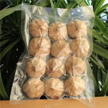 Agriculture Healthy Vegetables Black Garlic Bulbs