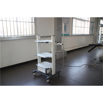 Portable medical trolly surgical pendant with outlets