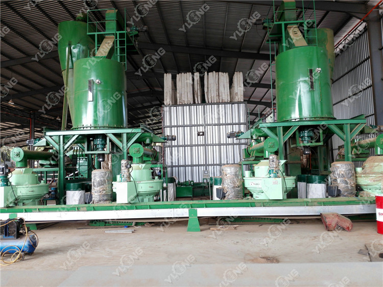 Banboo pellet press machine