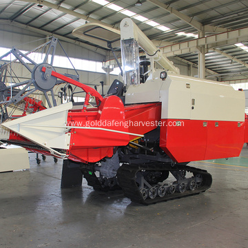 2000mm working width threshing rice combine harvesting
