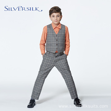 Professional Custom Polyester Viscose Wedding Kids Boy Suit