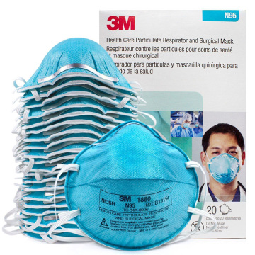 3M MASK 1860 N95 Cup ASTM F2101 BFE≥99