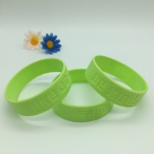 Custom Promotional Debossed Silicone Wristbands