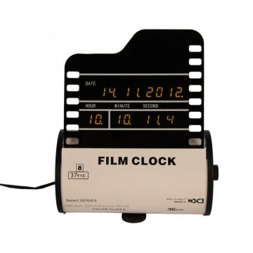 Film Digital Clock on Desk-Version A