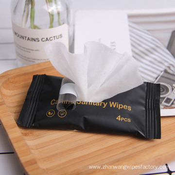 Organic Cleansing Facial Adults Sanitary Wipes