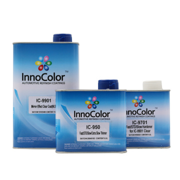InnoColor Mirror Effect Clear Coat Varnish Car Refinish