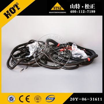 komatsu wiring harness 20Y-06-31611 for PC270-7