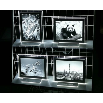 3D lenticular light photoframe lightbox