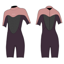 Seaskin Women 3mm Back Zip Shorty Dive Wetsuits