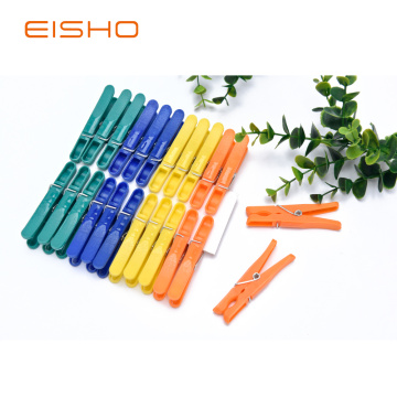 EISHO Plastic Decorative Mini Clothespins FC-1135-3