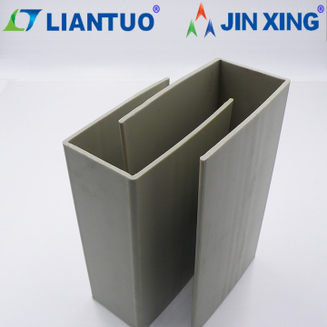 U Shape Plastic Extruded Profile