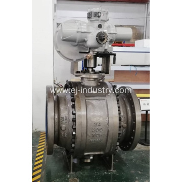 "24""-300LB METAL SEAT TRUNNION BALL VALVE"