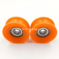 mini deep groove ball bearing shower door bearing wheels 626zz