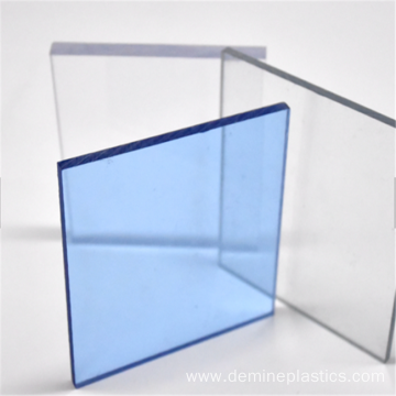 Durable anti fog polycarbonate sheet protective panel