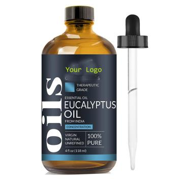 Eucalyptus Essential Oil Big 4 Oz Therapeutic Grade