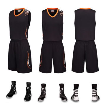 Guangzhou sublimatie basketbalteam uniform