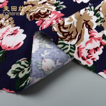 newest design 100 cotton fabric for t-shirt