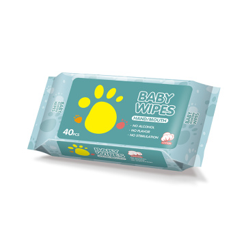 Cleaning Pure Water Cotton Eco Friendly Baby Wipes