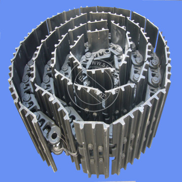 excavator PC400-7 track shoe ass'y 208-32-03301
