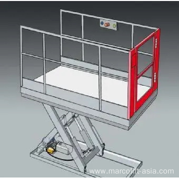 Swing Gate lift platform