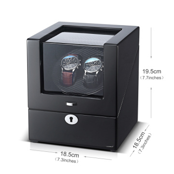watch winder case with drawer