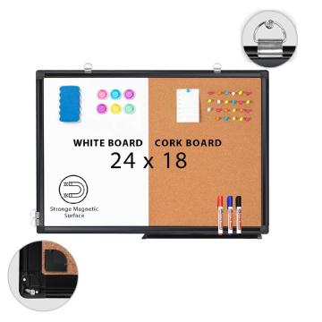WEYOUNG Combination Magnetic White board & Cork board