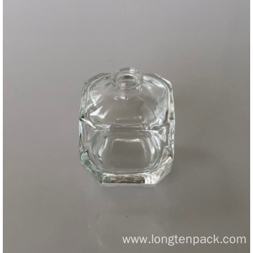 Diamond glass bottle for fragrance