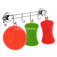Eco-friendly Soft Silicone Dish Scrubber for Cleaning