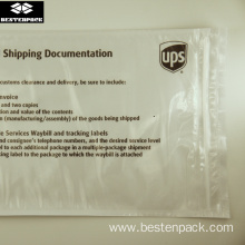Реттелетін UPS Zip Packing List конверті