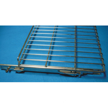Movable Steel Oven Bracket with Slides