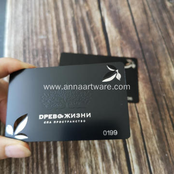 Mirror Luxury Engraved Stainless Steel Metal Business Card