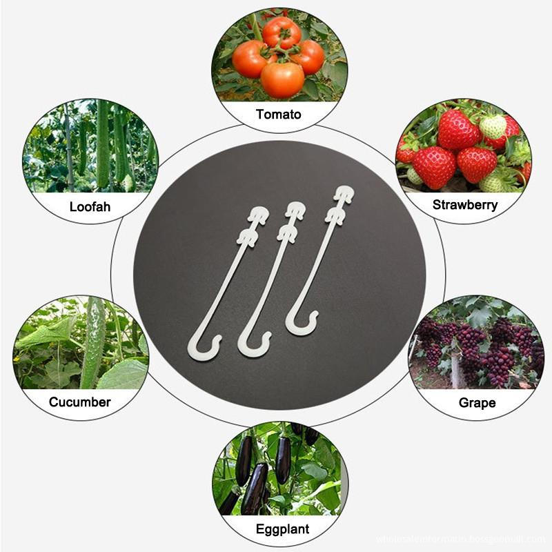 Pcs Agricultural Ear Hook Farming Tomatoes Greenhouse Clamp Fruit Vegetable Fix JW Other Garden Supplies