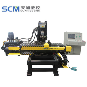 CNC Hydraulic Punching and Marking Machine for Plates
