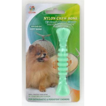 "Percell 4.5"" Nylon Dog Chew Spiral Bone Melon Scent"
