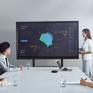 Interactive Video Conference Display