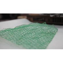 Green 3D vegetative cover net