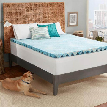 Comfity Thick Egg Crate Mattress Pad