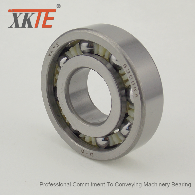 Polyamide 66 Bearing For Conveyor Belt Tracking Rollers