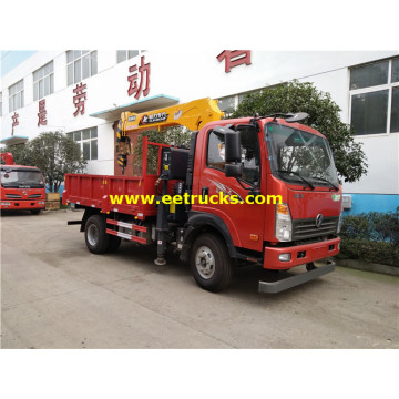 5 Ton Small SINOTRUK Truck with Cranes