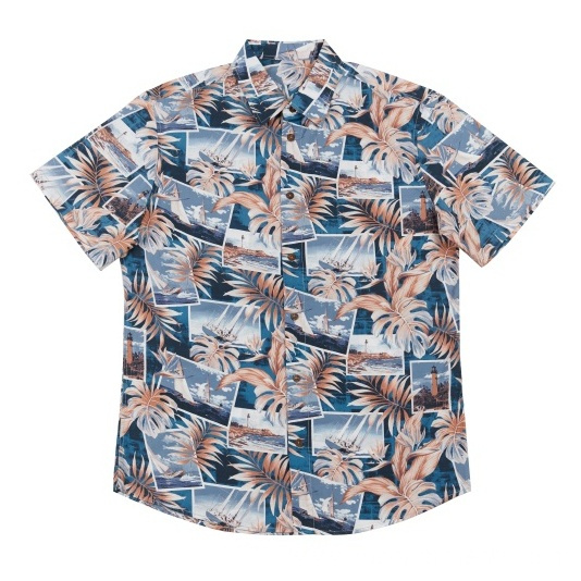 Men's Casual Cotton Shirts Holiday Wear