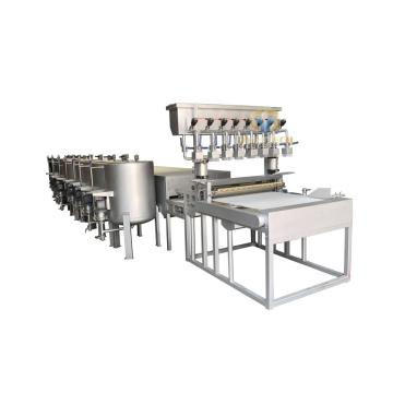 Multi color continuous dyeing machine